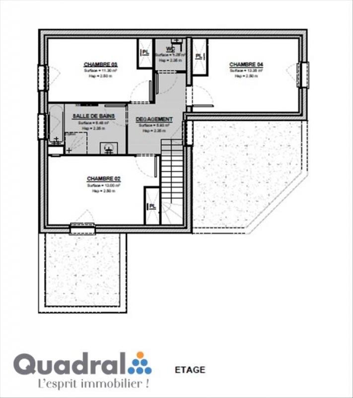 Maison individuelle en vente amanvillers 114 m 269 for Norme eclairage parking exterieur