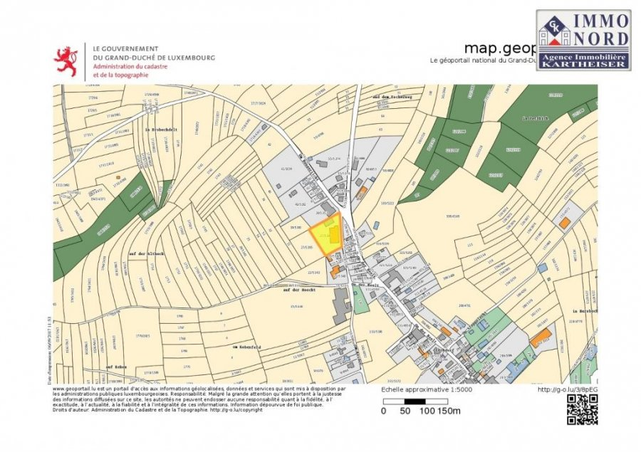 acheter penthouse 2 chambres 121.64 m² eschdorf photo 7