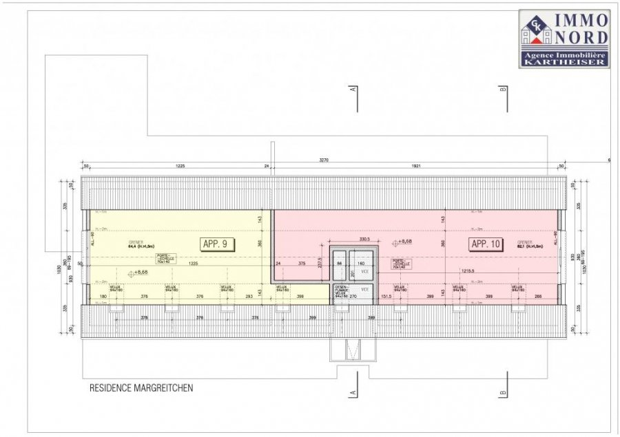 acheter penthouse 2 chambres 121.64 m² eschdorf photo 6