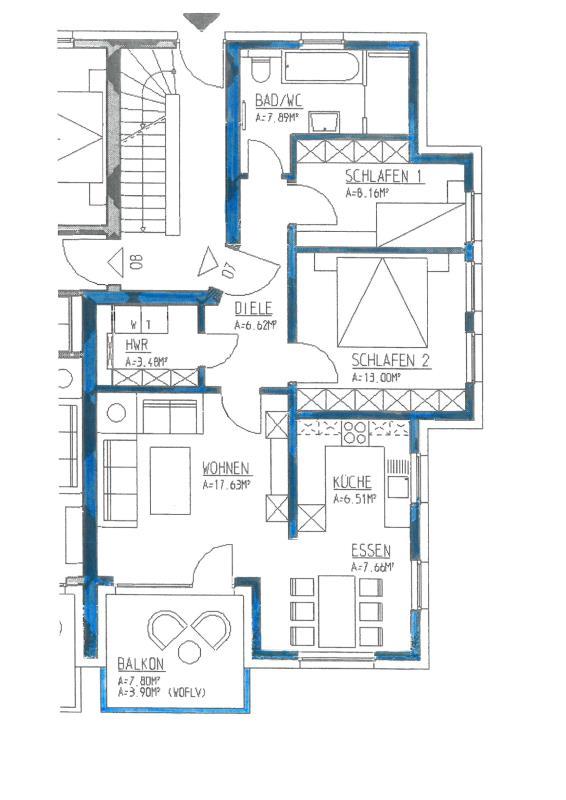 wohnung kaufen 3 zimmer 74.85 m² trier foto 3