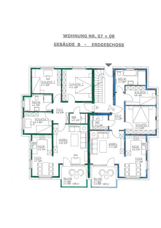 wohnung kaufen 3 zimmer 74.85 m² trier foto 4