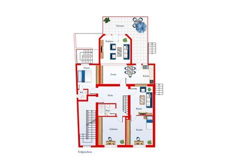 wohnung kaufen 5 zimmer 134 m² friedrichsthal foto 4