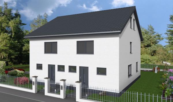 doppelhaushälfte kaufen 4 zimmer 100 m² bergen foto 1