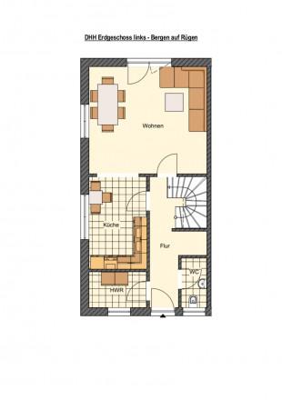 doppelhaushälfte kaufen 4 zimmer 100 m² bergen foto 3