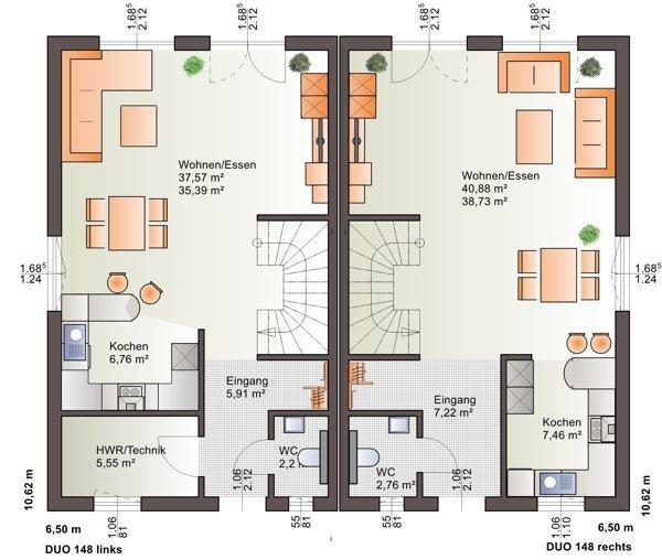 acheter maison jumelée 3 chambres 148 m² echternach photo 3