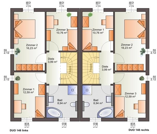 acheter maison jumelée 3 chambres 148 m² echternach photo 4