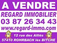 Immeuble de rapport à vendre F6 à Bitche - Réf. 6652003