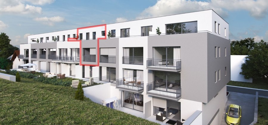 acheter penthouse 3 chambres 125.91 m² colmar-berg photo 2