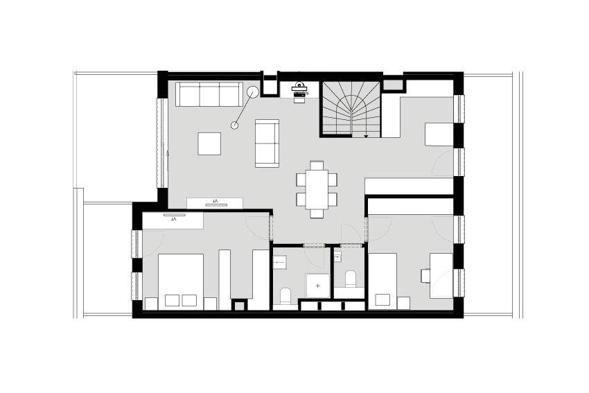 acheter penthouse 3 chambres 125.91 m² colmar-berg photo 4