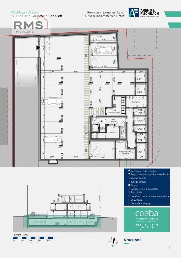 acheter appartement 2 chambres 86.06 m² capellen photo 5