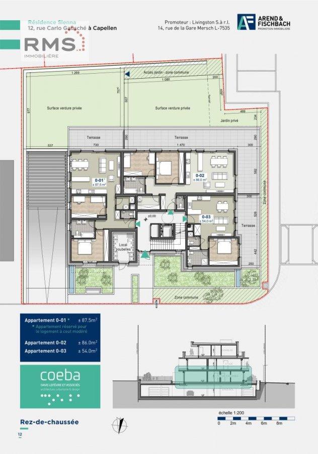 acheter appartement 2 chambres 86.06 m² capellen photo 6