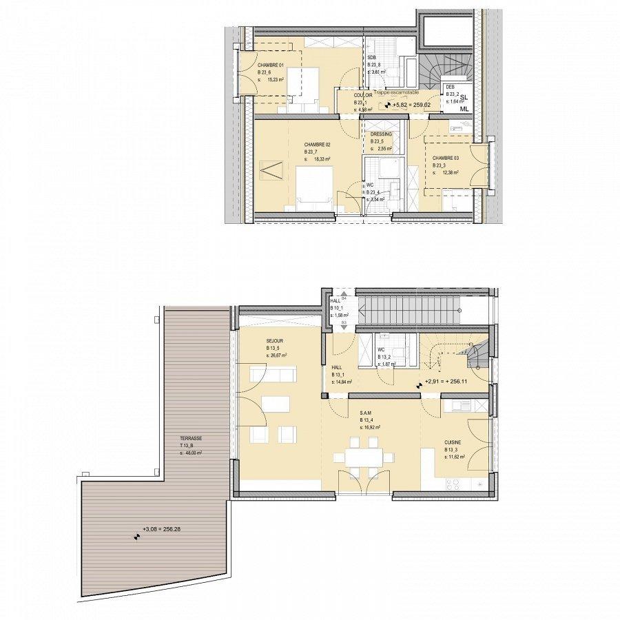 duplex for buy 3 bedrooms 151.51 m² niederanven photo 4