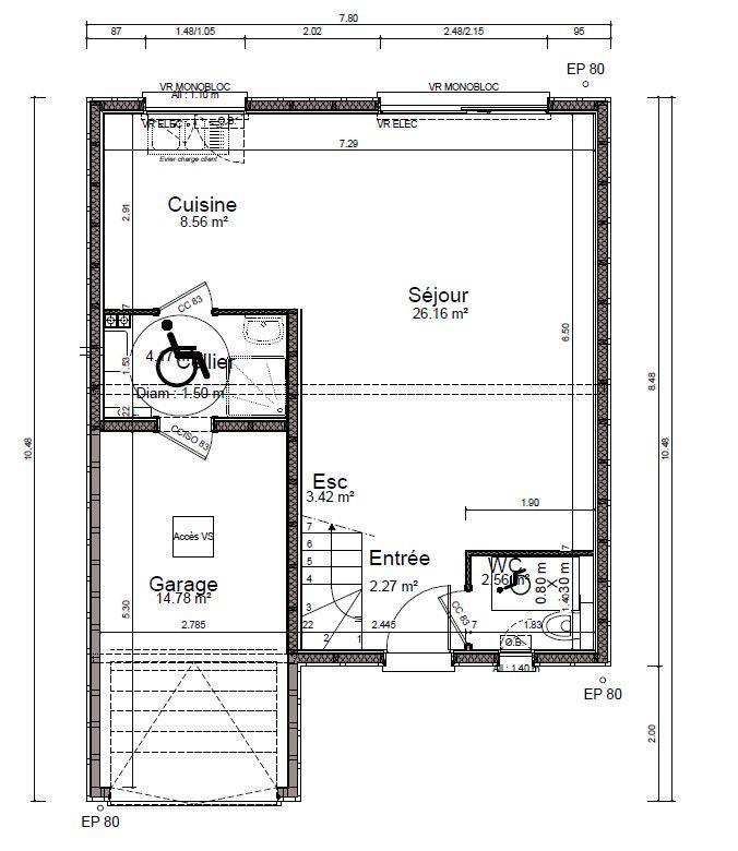 acheter maison 4 pièces 100 m² saulxures-lès-nancy photo 6