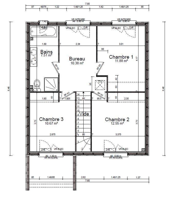 acheter maison 4 pièces 100 m² saulxures-lès-nancy photo 7