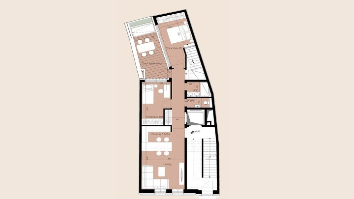 duplex for buy 2 bedrooms 100 m² luxembourg photo 4