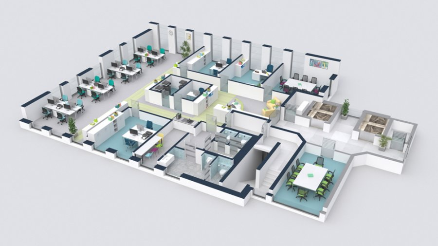 büro mieten 0 schlafzimmer 700 m² luxembourg foto 1