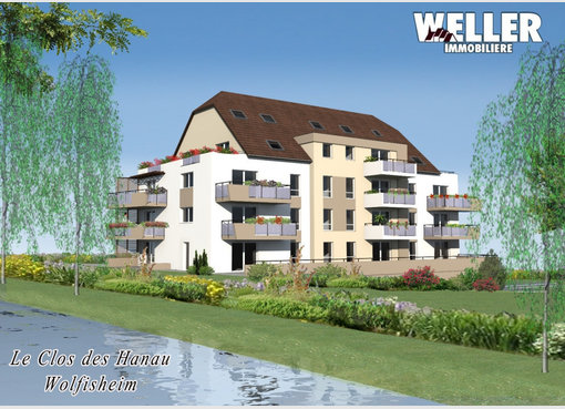 Neuf appartement f3 wolfisheim bas rhin r f 5002355 for Appartement f3 neuf