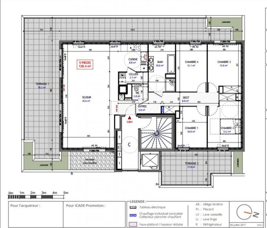 acheter penthouse 5 pièces 128 m² metz photo 2
