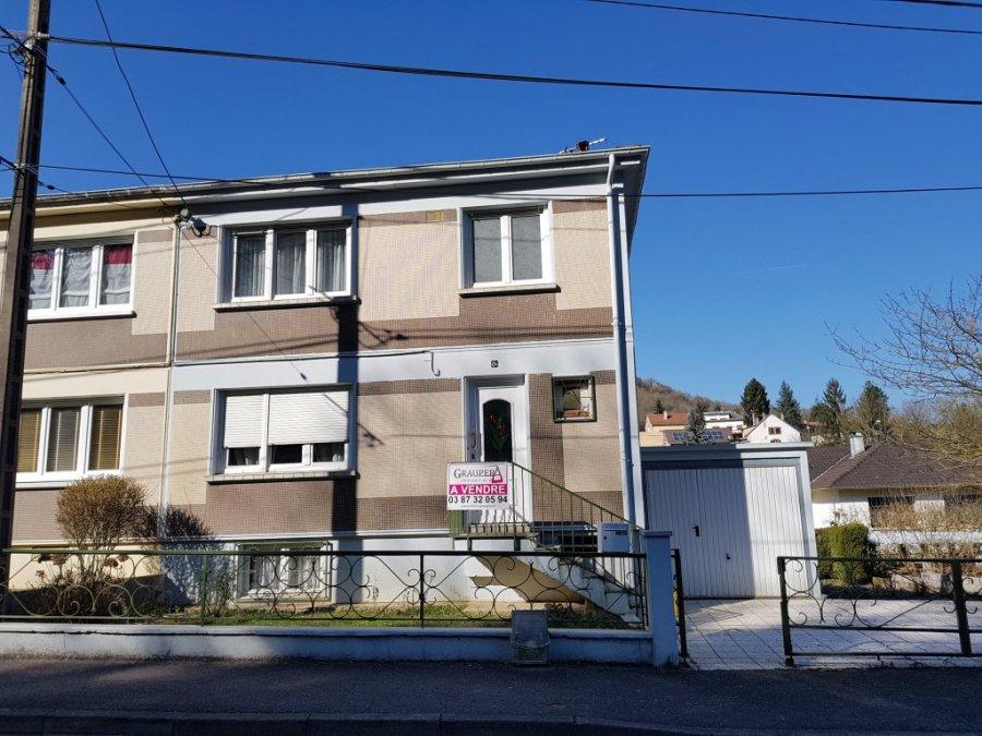 Maison individuelle en vente rombas m 185 500 for Vente maison individuelle rombas