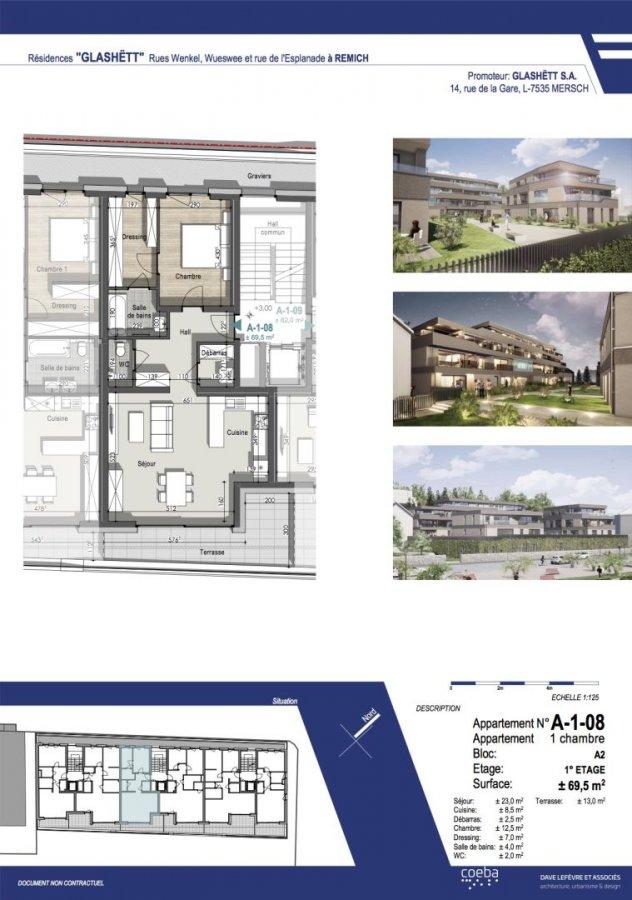 acheter appartement 1 chambre 69.33 m² remich photo 1