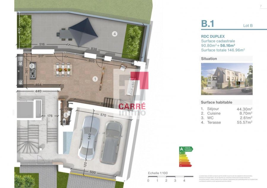 apartment for buy 2 bedrooms 123.65 m² luxembourg photo 3