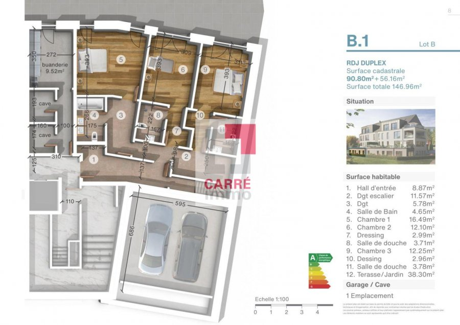 apartment for buy 2 bedrooms 123.65 m² luxembourg photo 4