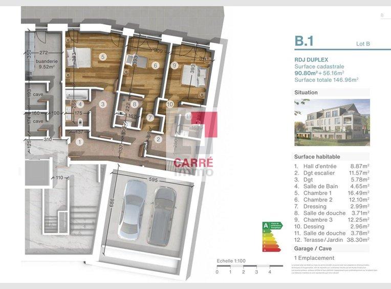Appartement à vendre 2 Chambres à Luxembourg (LU) - Réf. 6855539