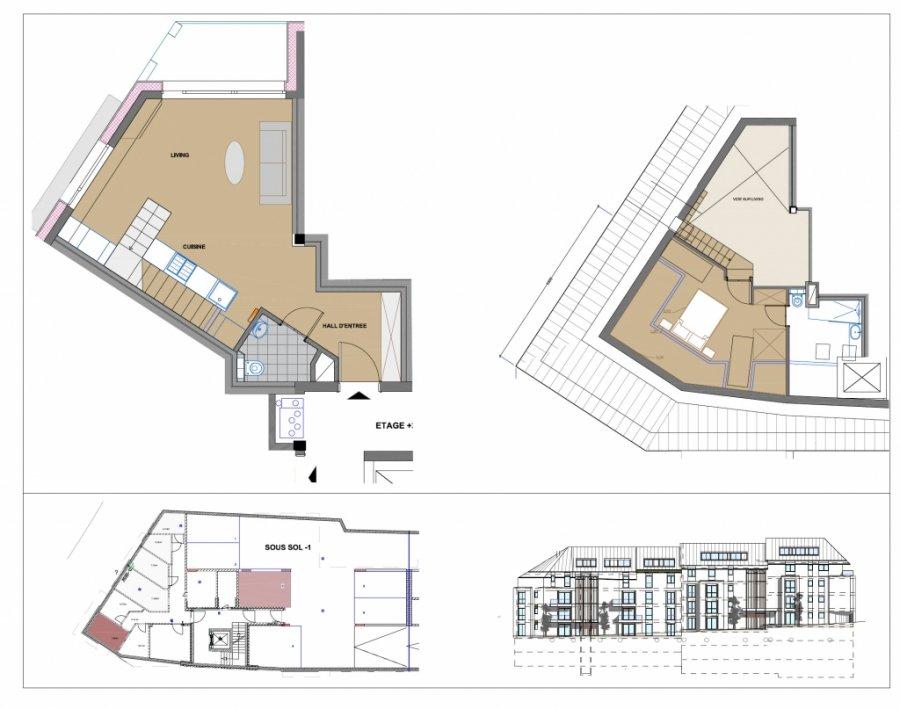 acheter duplex 1 chambre 48.99 m² luxembourg photo 4