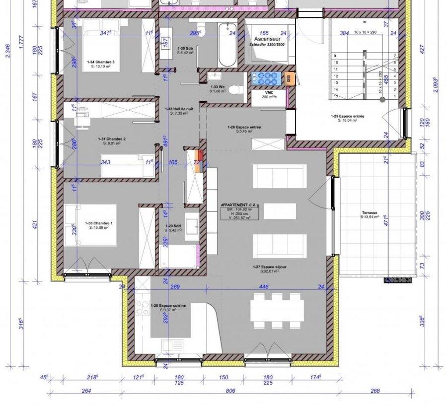 acheter appartement 3 chambres 104 m² eschweiler photo 4