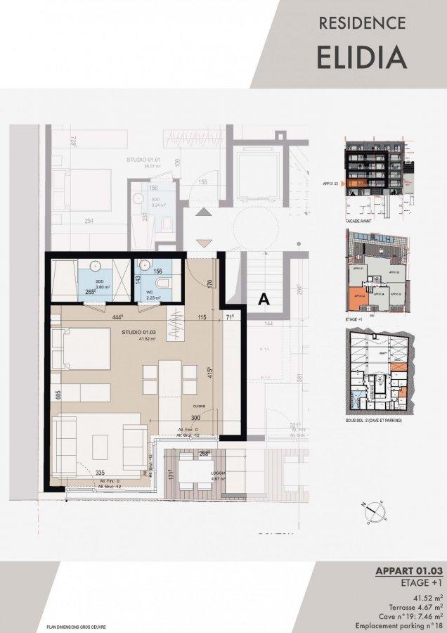 apartment kaufen 0 schlafzimmer 43.39 m² luxembourg foto 2