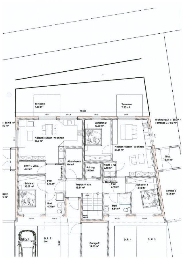 wohnung kaufen 2 zimmer 63 m² merzig foto 3