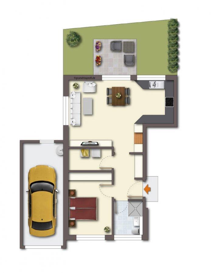 wohnung kaufen 2 zimmer 63 m² merzig foto 2