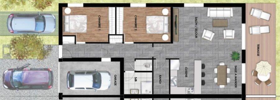 acheter maison 3 pièces 93 m² courcelles-chaussy photo 5