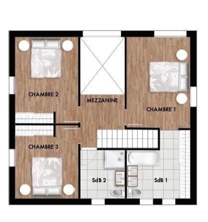 acheter maison 3 pièces 93 m² courcelles-chaussy photo 7