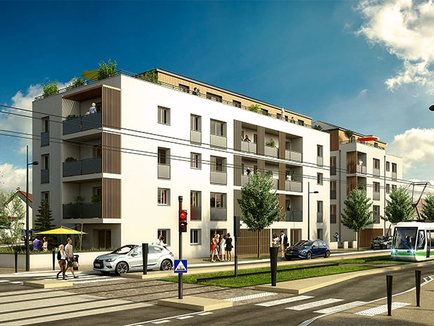 Appartement en vente orvault 59 m 233 000 for Acheter un appartement en construction