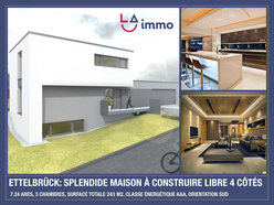 House for sale 3 bedrooms in Ettelbruck - Ref. 6631603