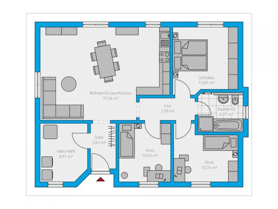 haus kaufen 4 zimmer 95 m² losheim foto 3