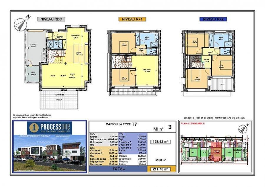 acheter maison 7 pièces 158.42 m² thionville photo 1