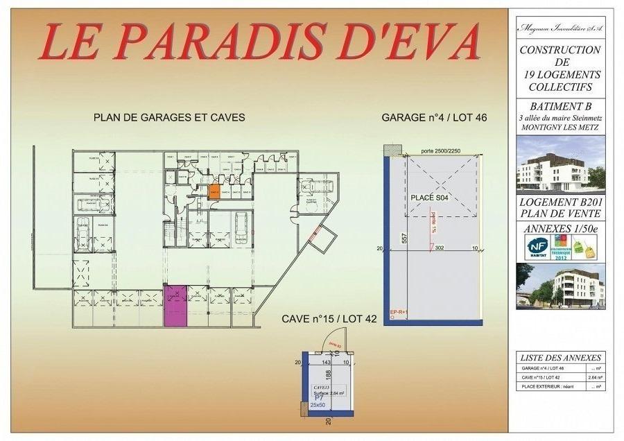 acheter appartement 3 pièces 68.37 m² montigny-lès-metz photo 4