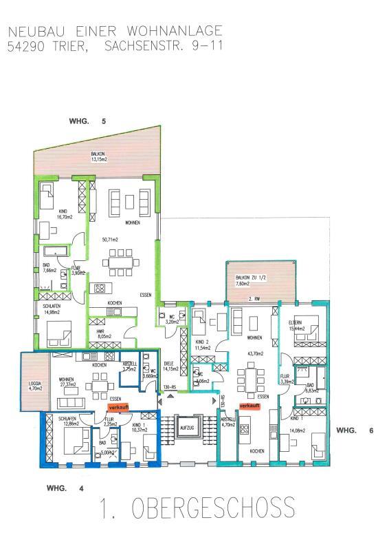 wohnung kaufen 3 zimmer 134.45 m² trier foto 4