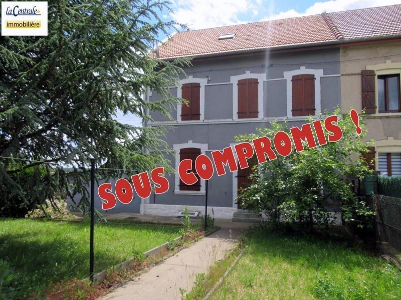 Maison jumelée à vendre F5 à Bouligny
