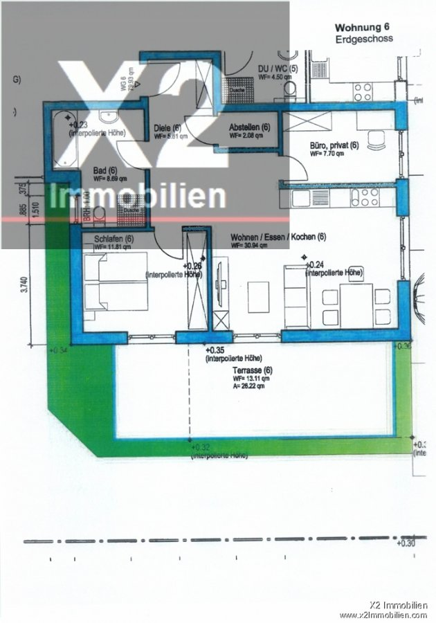 wohnung kaufen 3 zimmer 79.93 m² wittlich foto 1