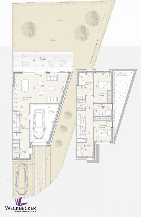 acheter maison jumelée 4 chambres 173.1 m² mondercange photo 3