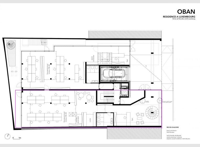 Bureau à vendre à Luxembourg (LU) - Réf. 6425027