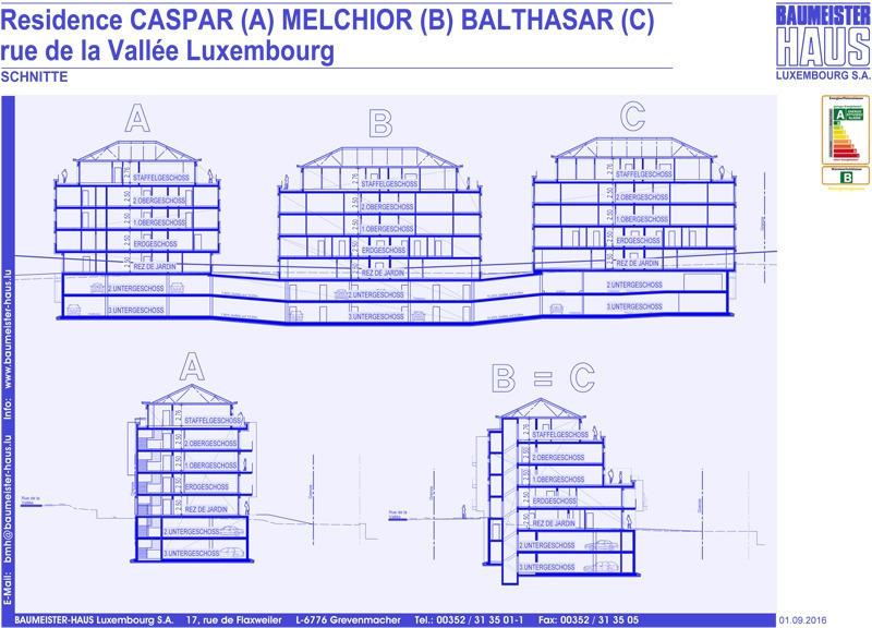acheter penthouse 1 chambre 95.65 m² luxembourg photo 4