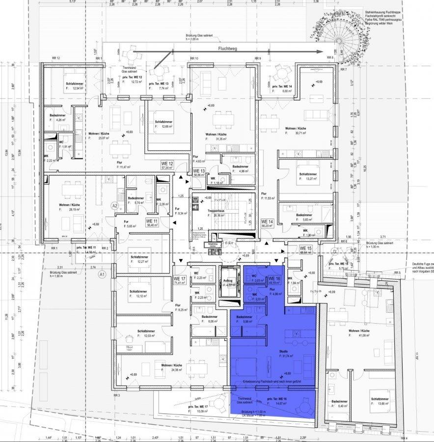acheter appartement 1 chambre 49.19 m² schifflange photo 3