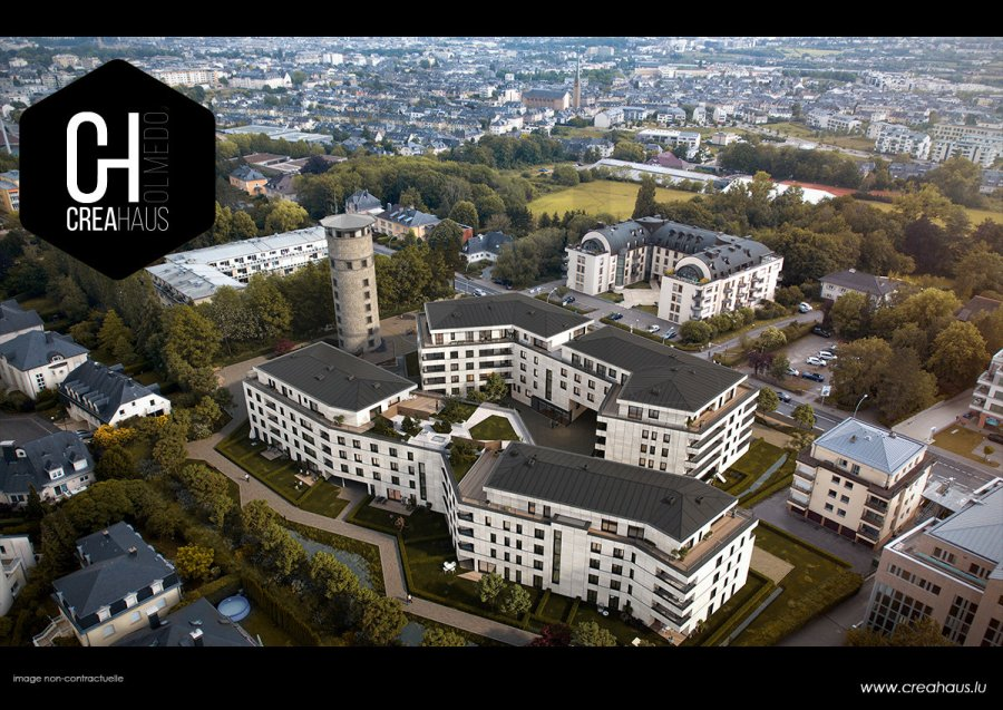 acheter appartement 1 chambre 54.28 m² luxembourg photo 2