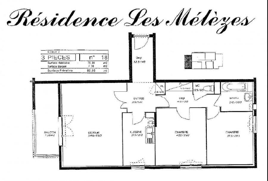 louer appartement 3 pièces 75 m² metz photo 7