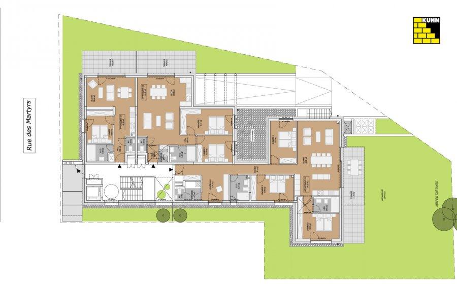 wohnung kaufen 3 schlafzimmer 130.51 m² steinfort foto 2