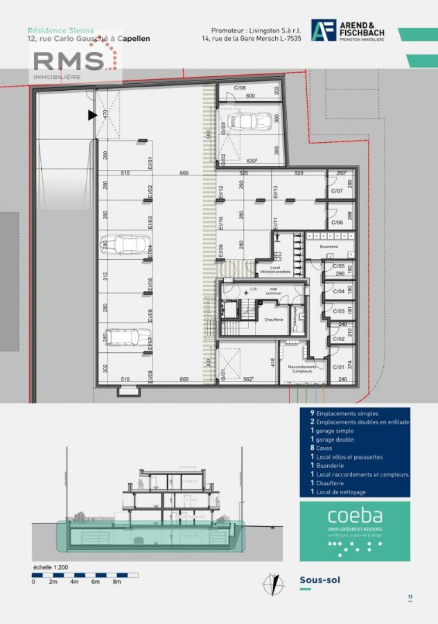 acheter studio 0 chambre 45.58 m² capellen photo 5